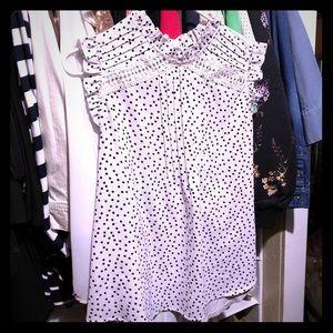 Tops - Sleeveless dress shirt